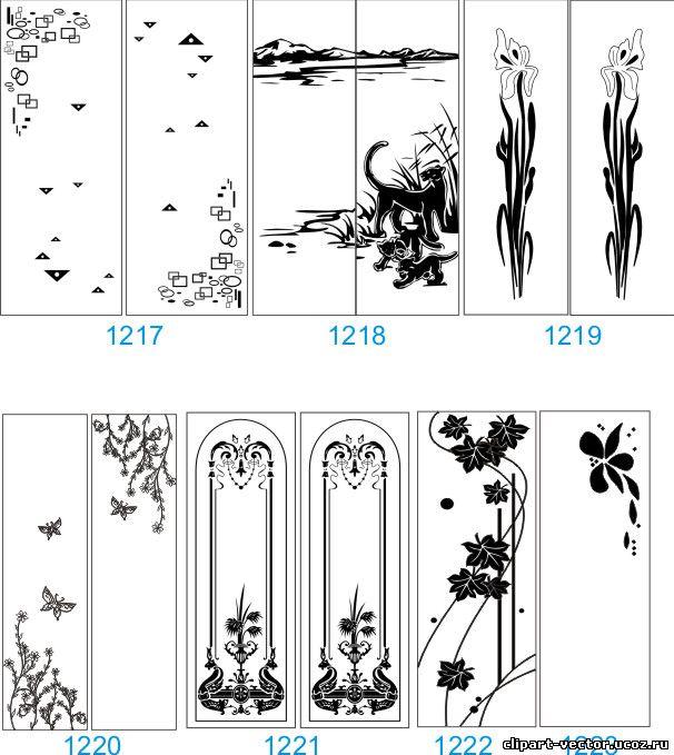 Пескоструйные рисунки на зеркале - каталог рисунков шкаф-куп.